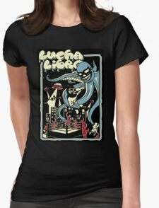 LUCHA OUTBREAK Womens Fitted T-Shirt