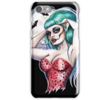 Gothabilly night of the dead iPhone Case/Skin