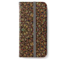 Grunge Circles Pattern iPhone Wallet/Case/Skin
