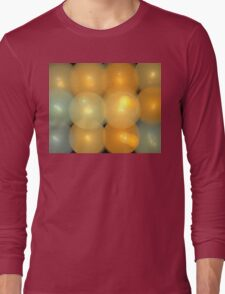 Gold Balloons Long Sleeve T-Shirt