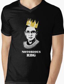 Notorious RBG T-shirt - The Queen RBG T-shirt  Mens V-Neck T-Shirt