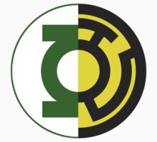 Green Lantern and Sinestro Mix by Zach Adkins