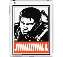 Chris Jill Obey Design iPad Case/Skin