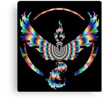 TEAM VALOR - PSYCHEDELIC Canvas Print