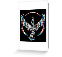 TEAM VALOR - PSYCHEDELIC Greeting Card