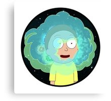 Morty and Fart Canvas Print