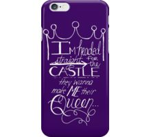 Make Me Their Queen (Customizable) iPhone Case/Skin