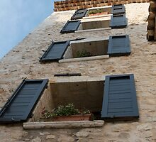 Four Windows by Marylou Badeaux