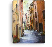 Whitecat Lane, Sienna Italy.   Canvas Print