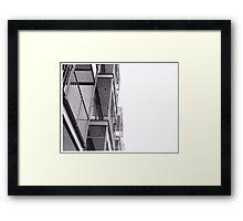Prassel Framed Print