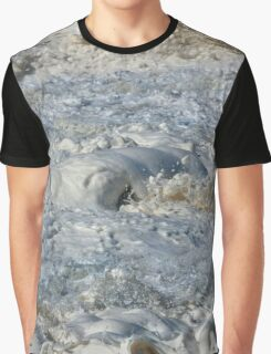 Splishy Splash of a foamy Momenary Water Sculpture Graphic T-Shirt