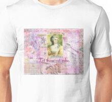 Marie Antoinette  Let Them Eat Cake quote   Unisex T-Shirt
