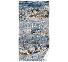 Splishy Splash of a foamy Momenary Water Sculpture Poster