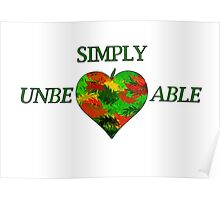 Simply UnbeLeafable Poster