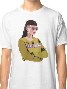 Feminist (Purple) Classic T-Shirt