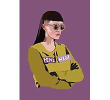 Feminist (Purple) Photographic Print