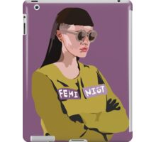 Feminist (Purple) iPad Case/Skin