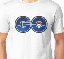 Pokemon GO letters Unisex T-Shirt