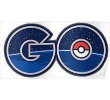 Pokemon GO letters Poster