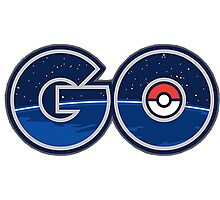 Pokemon GO letters Photographic Print