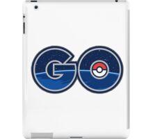 Pokemon GO letters iPad Case/Skin