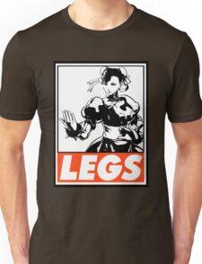Chun-Li Legs Obey Design Unisex T-Shirt
