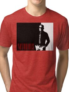 Conor McGregor - Notorious (Scarface Design) Tri-blend T-Shirt