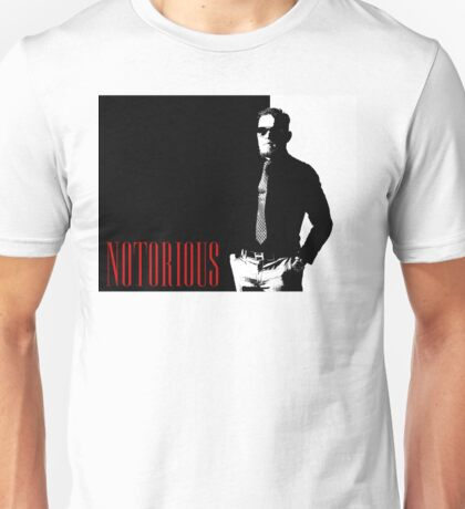 Conor McGregor - Notorious (Scarface Design) Unisex T-Shirt