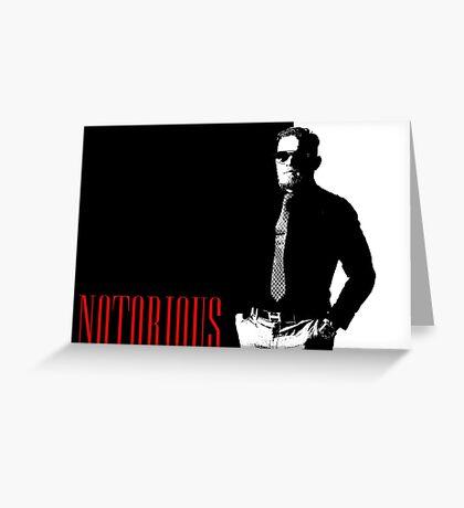 Conor McGregor - Notorious (Scarface Design) Greeting Card