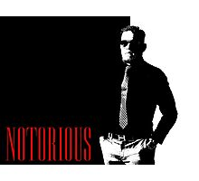 Conor McGregor - Notorious (Scarface Design) Photographic Print