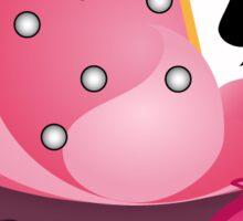 Tsum Tsum Cheshire Cupcake Sticker