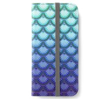 "The ""Now I'm a Mermaid!"" Scallops Design iPhone Wallet/Case/Skin"