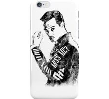 Moriarty- Did you Miss Me?- rough iPhone Case/Skin