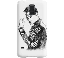 Moriarty- Did you Miss Me?- rough Samsung Galaxy Case/Skin