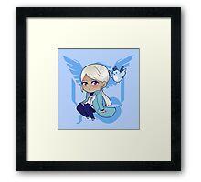 Team Mystic- Blanche Framed Print