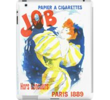 Vintage Jules Cheret Cigarette Advertising 1889 iPad Case/Skin