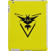 Team Instinct - Pokemon Go iPad Case/Skin