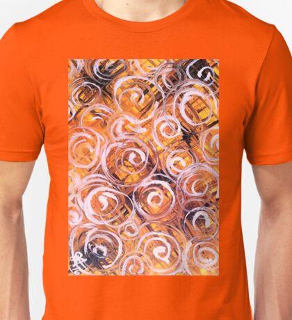 Oat Harvest Yellow Black Purple Orange Summer Fall Colorful Colors Unisex T-Shirt