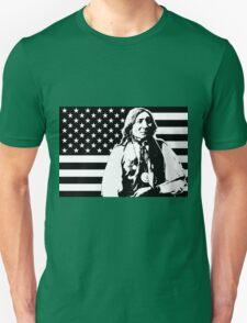 LONE WOLF (FLAG)-2 Unisex T-Shirt