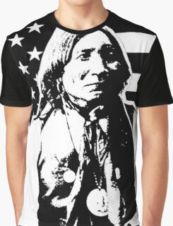 LONE WOLF (FLAG)-2 Graphic T-Shirt