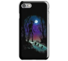 Stranger in the Woods iPhone Case/Skin