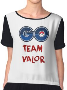 GO Team Valor - Pokemon Go Chiffon Top