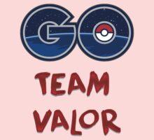 GO Team Valor - Pokemon Go Kids Tee
