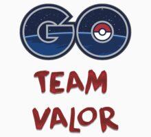 GO Team Valor - Pokemon Go One Piece - Short Sleeve