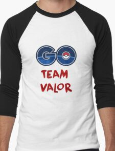 GO Team Valor - Pokemon Go Men's Baseball ¾ T-Shirt