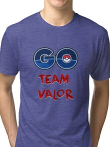 GO Team Valor - Pokemon Go Tri-blend T-Shirt