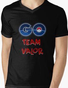 GO Team Valor - Pokemon Go Mens V-Neck T-Shirt