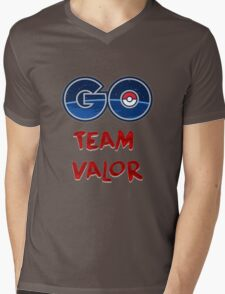 GO Team Valor - Pokemon Go Mens V-Neck T-Shirt