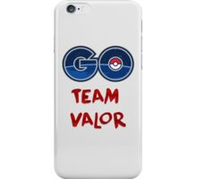 GO Team Valor - Pokemon Go iPhone Case/Skin