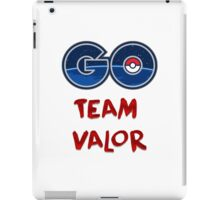 GO Team Valor - Pokemon Go iPad Case/Skin